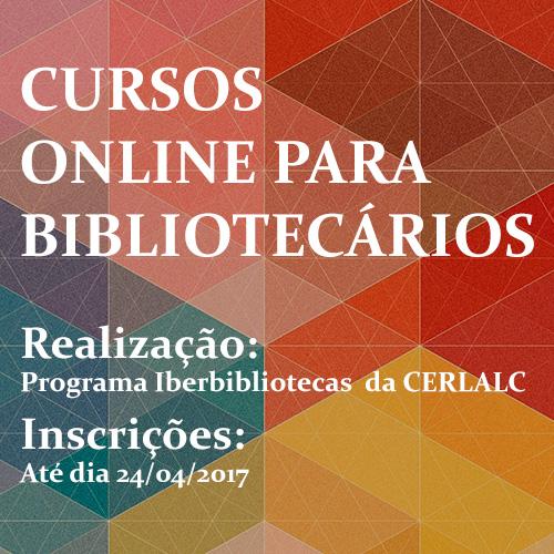 Cursos Online para Bibliotecários